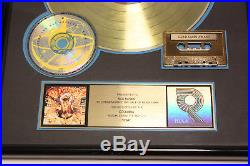 Toad the Wet Sprocket Fear RIAA Gold Record Award Authentic