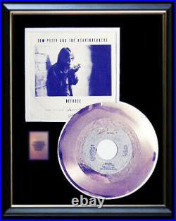 Tom Petty Refugee 45 RPM Gold Metalized Record Non Riaa Award Rare