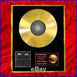 Tool 10000 Days CD Gold Disc Lp Award Display Vinyl Record Same As Bpi & Riaa