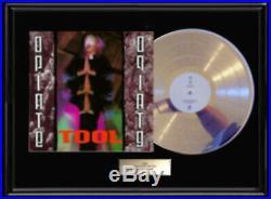 Tool Opiate White Gold Silver Platinum Tone Record Lp Album Non Riaa Award