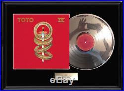 Toto IV White Gold Silver Platinum Toned Record Lp Non Riaa Award