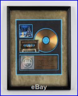 Trans Liberian Orchestra Lava/Atlantic Gold Record Award Presented To Indy