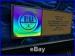 Trans-Siberian Orchestra NIGHT CASTLE 2009 RIAA Gold Record Award Plaque