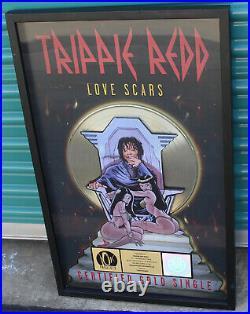 Trippie Red Love Scars Single GOLD RIAA Record Award Plaque Goose The Guru Rare