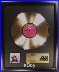 Twisted Sister Stay Hungry LP Gold Non RIAA Record Award Atlantic Records