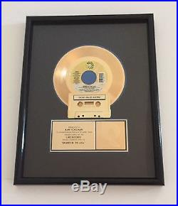 Two Live Crew Banned in the USA RIAA Single Gold Record Award Luke Records