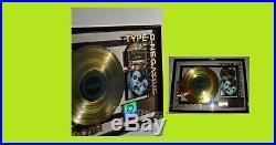 Type O Negative Bloody Kisses Riaa Gold Record Award Very Rare