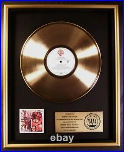 Van Halen Fair Warning LP Gold RIAA Record Award Warner Brothers Records