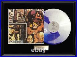 Van Halen Fair Warning White Gold Silver Platinum Tone Record Lp Non Riaa Award