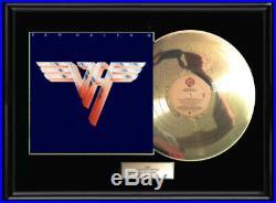 Van Halen Two II Framed Lp White Gold Platinum Tone Record Album Non Raa Award