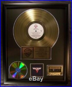 Van Halen Van Halen II LP Cassette CD Gold Non RIAA Record Award Warner Brothers