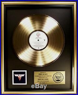 Van Halen Van Halen II LP Gold RIAA Record Award Warner Brothers Records