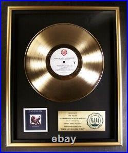 Van Halen Women And & Children First Gold RIAA Record Award Warner Bros. Records