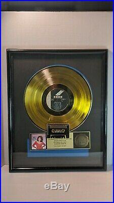 Vanessa Williams The Right Stuff Gold Sales Award Record Plaque 500,000 RIAA