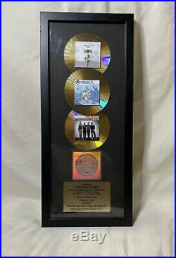 Vintage Relient K RIAA Gold Sales 500,000 Record Copies Sold Award VERY RARE