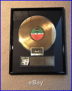 Winger Gold Record Sales Award RIAA Certified