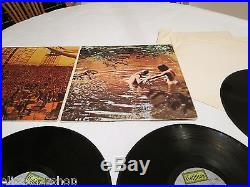 Woodstock 3 record set gold award seal nudes 1970 SD 3-500 LP Album RARE vinyl