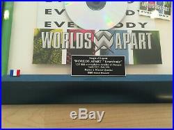 Worlds Apart Everybody Gold Award Frankreich 125.000 units Original