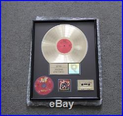 Wu-tang Clan (3) Riaa Record Award Platinum & Gold Loud/rca Records Plaque Wear