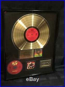 Wu-tang Clan Reakwon Riaa Gold Loud Records Award