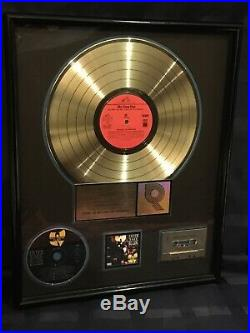 Wu-tang Clan Riaa Gold Loud Records Award
