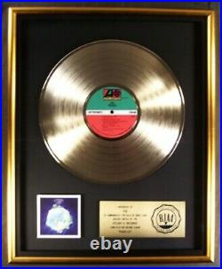 Yes Fragile LP Gold RIAA Record Award Atlantic Records To Yes