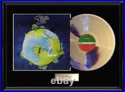 Yes Fragile White Gold Silver Platinum Toned Record Lp Rare Non Riaa Award