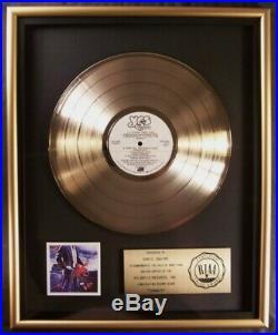 Yes Tormato LP Gold RIAA Record Award Atlantic Records Chris Squire
