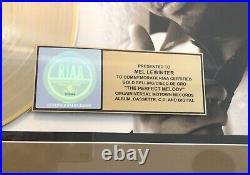 Zion The Perfect Melody RIAA Gold Record Award Felix Ortiz Reggaeton Latin